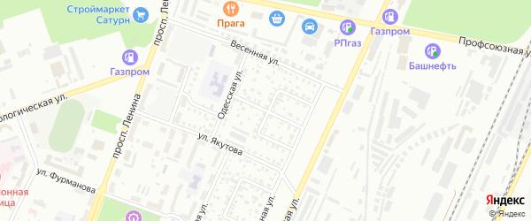 Элеваторный 2-й переулок на карте Стерлитамака с номерами домов