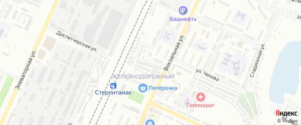 Семафорная улица на карте Стерлитамака с номерами домов