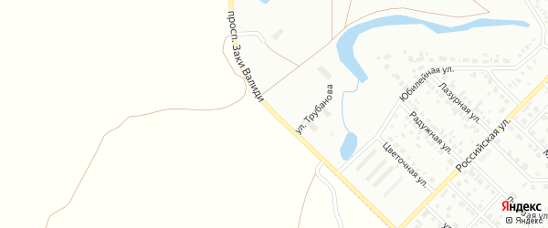 Проспект Валиди на карте Салавата с номерами домов