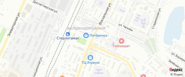 Вокзальная улица на карте Стерлитамака с номерами домов