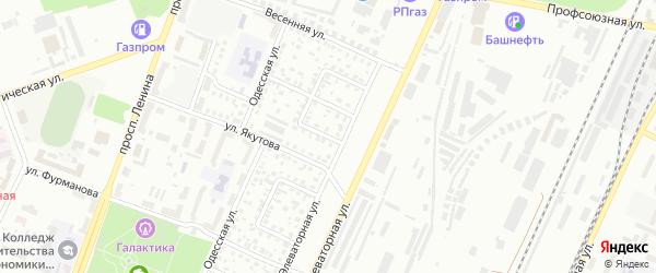 Элеваторный 1-й переулок на карте Стерлитамака с номерами домов