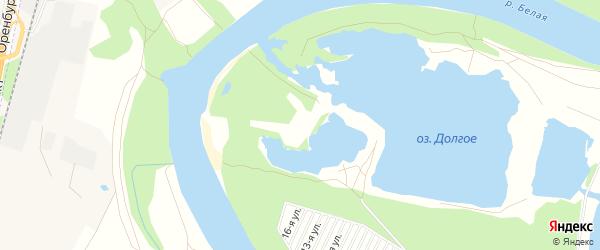 СНТ Заречье на карте Уфимского района с номерами домов