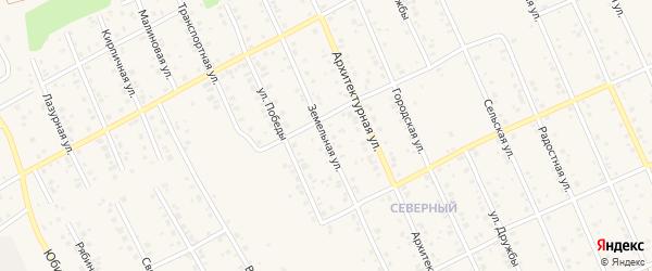Земельная улица на карте Благовещенска с номерами домов