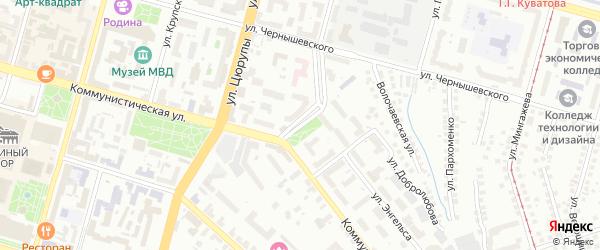 Улица Дорофеева на карте Уфы с номерами домов