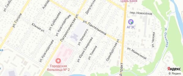 Улица Юрия Смирнова на карте Стерлитамака с номерами домов