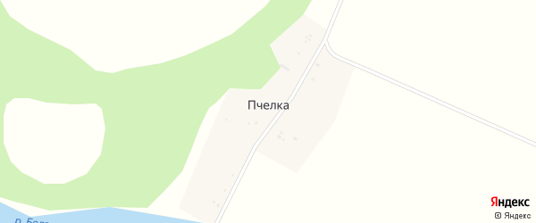 Улица Мира на карте деревни Пчелки с номерами домов