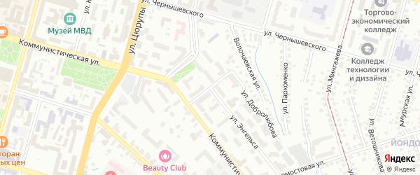 Улица Магафура Хисматуллина на карте Уфы с номерами домов