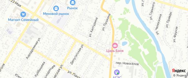 Некрасова 2-й переулок на карте Стерлитамака с номерами домов