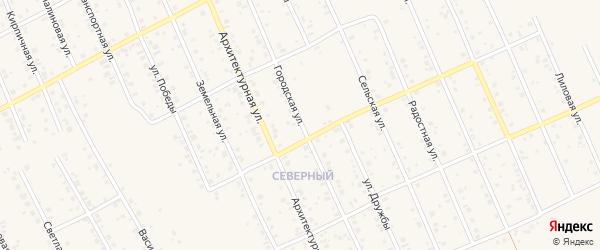 Городская улица на карте Благовещенска с номерами домов