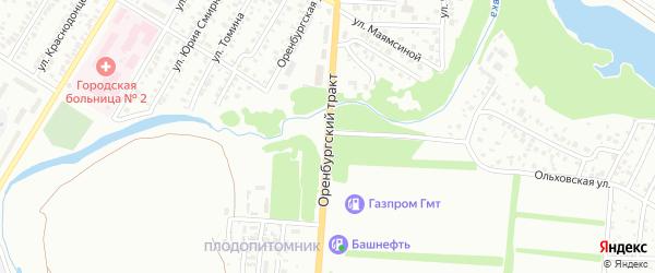 Оренбургский тракт на карте Стерлитамака с номерами домов