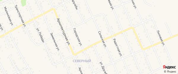 Улица Дружбы на карте Благовещенска с номерами домов