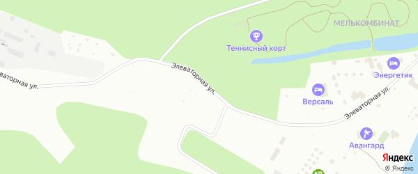 Элеваторная улица на карте Уфы с номерами домов