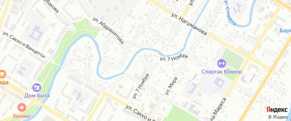 Трактовая улица на карте Стерлитамака с номерами домов