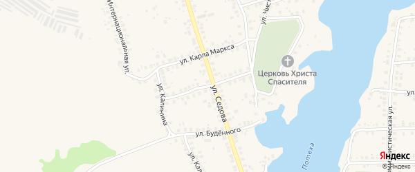 Западная улица на карте Благовещенска с номерами домов