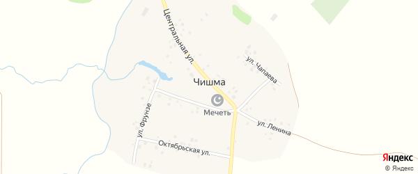 Улица Ленина на карте деревни Чишмы с номерами домов