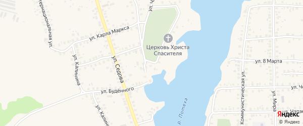 Песочная улица на карте Благовещенска с номерами домов