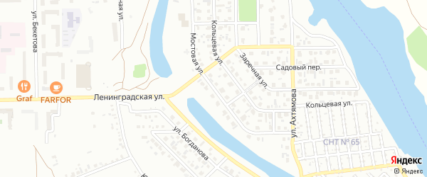 Мостовая улица на карте Салавата с номерами домов