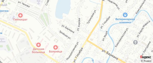 Улица Кирова на карте Стерлитамака с номерами домов