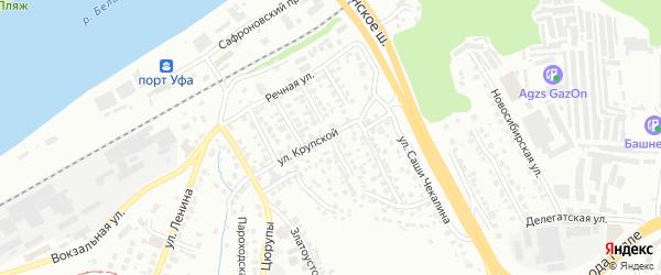 Стерлитамакская улица на карте Уфы с номерами домов