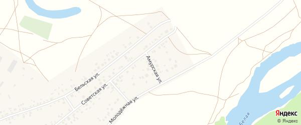 Амурская улица на карте деревни Сабашево с номерами домов