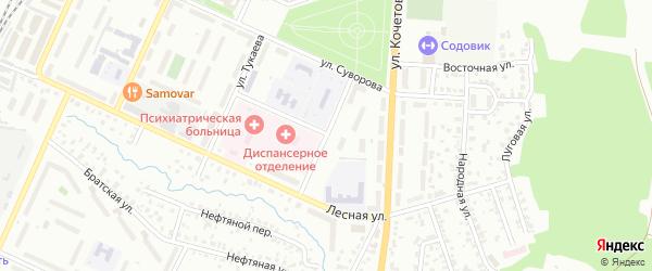 Пионерская улица на карте Стерлитамака с номерами домов