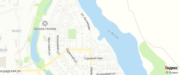 Улица Ахтямова на карте Салавата с номерами домов