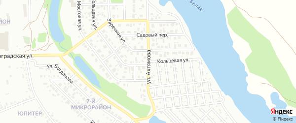 Кольцевая улица на карте Салавата с номерами домов