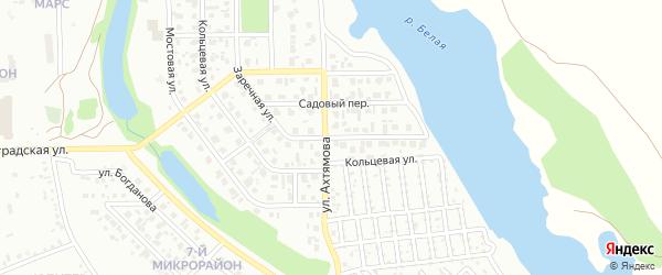 Заречная улица на карте Салавата с номерами домов