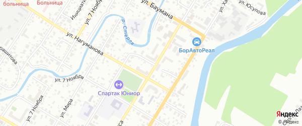 Улица Лермонтова на карте Стерлитамака с номерами домов