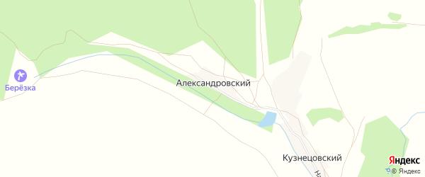 Карта Александровского хутора в Башкортостане с улицами и номерами домов