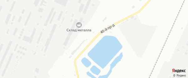 40-й проезд на карте Стерлитамака с номерами домов