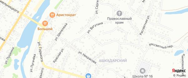 Улица Белинского на карте Стерлитамака с номерами домов