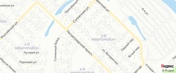 Улица Нефтехимиков на карте Салавата с номерами домов