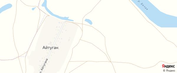 Улица Айтугана на карте деревни Айтугана с номерами домов