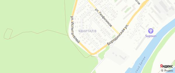 Вознесенская улица на карте Уфы с номерами домов