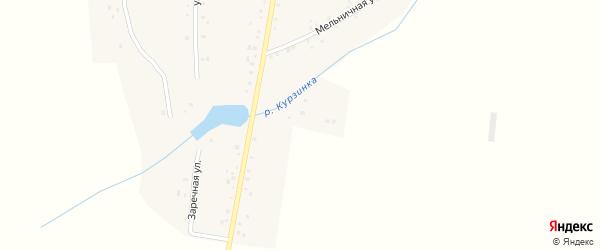 Заречная улица на карте деревни Новоакбулатово с номерами домов