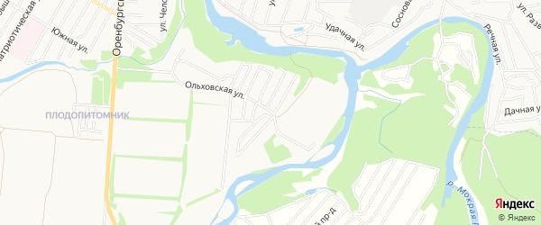 СНТ Березка-1 ГП Водоканал на карте Уфы с номерами домов