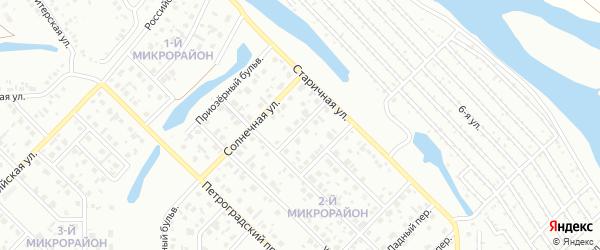 Чистый переулок на карте Салавата с номерами домов