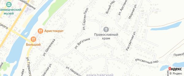 Улица Ватутина на карте Стерлитамака с номерами домов