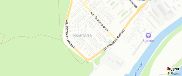 Корабельная улица на карте Уфы с номерами домов