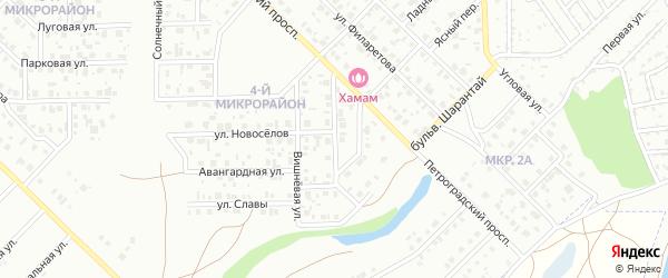Интернациональная улица на карте Салавата с номерами домов