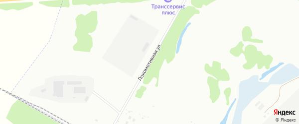 Локомотивная улица на карте Ишимбая с номерами домов