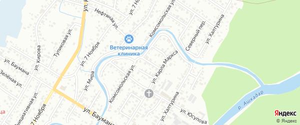 Улица Герцена на карте Стерлитамака с номерами домов