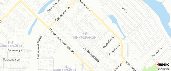 Улица Березовского на карте Салавата с номерами домов