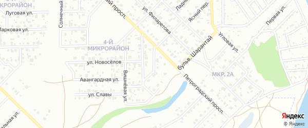 Камская улица на карте Салавата с номерами домов
