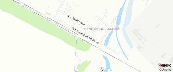 Железнодорожная улица на карте Ишимбая с номерами домов