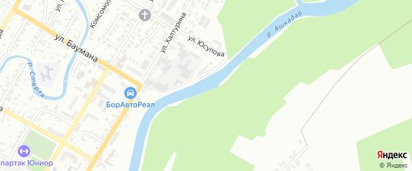 Улица Тихий Ашкадар на карте Стерлитамака с номерами домов