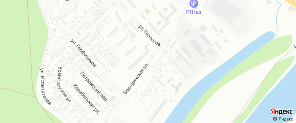 Улица Кузнецовский Затон на карте Уфы с номерами домов