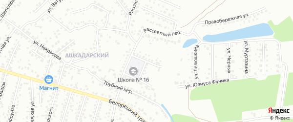 Улица Мусы Джалиля на карте Стерлитамака с номерами домов