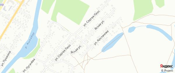 Ясная улица на карте Стерлитамака с номерами домов